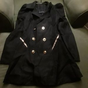 Navy blue sailor coat